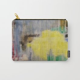 Subliminal Grey. Grey, Rain, Water, Car, Abstract, Blue, Jodilynpaintings Carry-All Pouch
