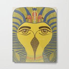King Tut Bird Metal Print