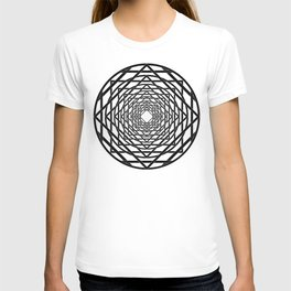 Diamonds in the Rounds B&W T-shirt