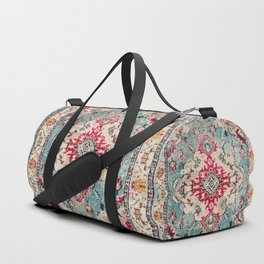 Heritage Farmhouse Style Traditional Oriental Moroccan Artwork Duffle Bag