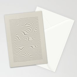 Line Distortion #1 Stationery Cards