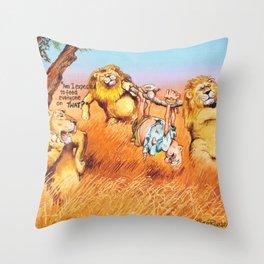 the prey Throw Pillow