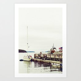Fishing Trip Art Print