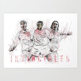 Arsenal Invincible's - Football Art Print #2 Kunstdrucke