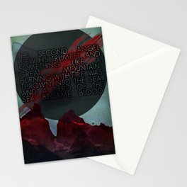 The Second Trumpet | 3•2 Stationery Cards