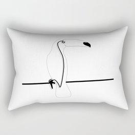 Toco Toucan Rectangular Pillow