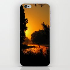 Orange Glow of Sunrise iPhone & iPod Skin