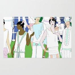 Gatsby Girl Garden Party Rug