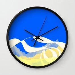 Rampant Mobius Wall Clock