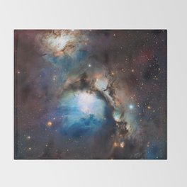 Reflection Nebula in Orion Throw Blanket