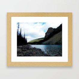 Moraine Lake, Banff Framed Art Print