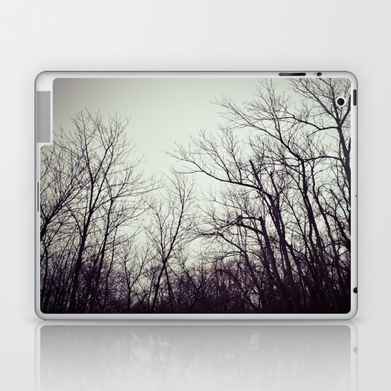 Tree branches in the sky Laptop & iPad Skin