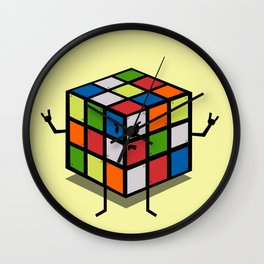 Rebel Rubik Wall Clock