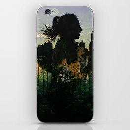 Central Park running iPhone Skin