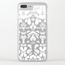 Winter has Come, Silver Romantic Nights Clear iPhone Case