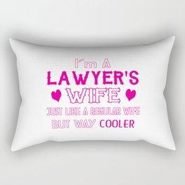 Lawyer's Wife Rectangular Pillow