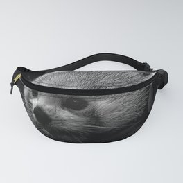 Awesome B&W red Panda Fanny Pack