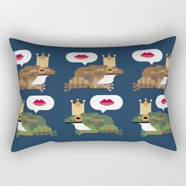 Shall we kiss? Rectangular Pillow