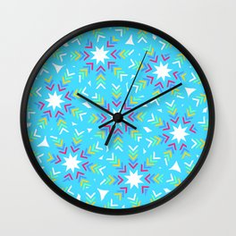Decoration in blue Wall Clock