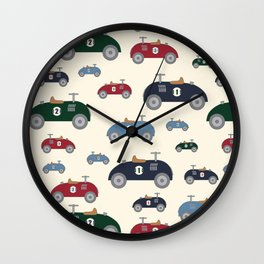 Retro Ride-on Wall Clock