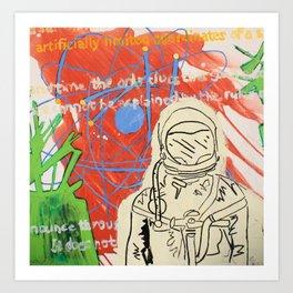 """Cosmic Adams"" Art Print"