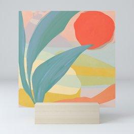 Shapes and Layers no.33 Mini Art Print