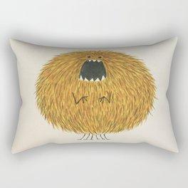 Poofy Wan Rectangular Pillow