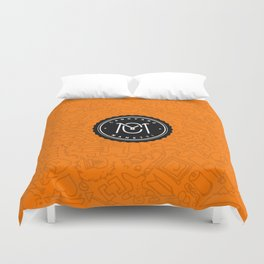 Orange Canovaro Manetti  Duvet Cover