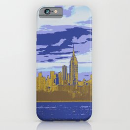 NYC Skyline Pop Art iPhone Case