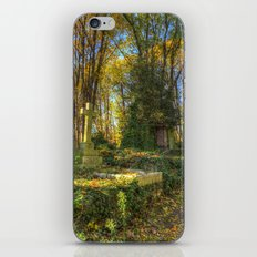Highgate Cemetery London iPhone & iPod Skin