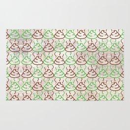 Poop Pattern Rug