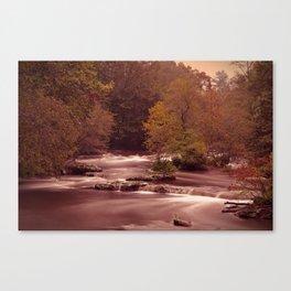 Blackberry Falls Waterscape Canvas Print