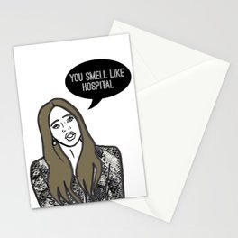 Hospital Smell Stationery Cards
