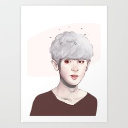 EXO CHA Art Print