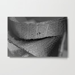 Recycled Tire Metal Print