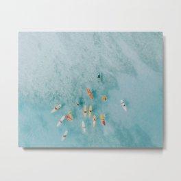 float x Metal Print