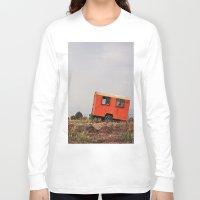 spanish Long Sleeve T-shirts featuring Spanish Caravan  by Yehuda Swed