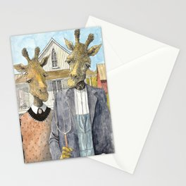 American Giraffic Stationery Cards