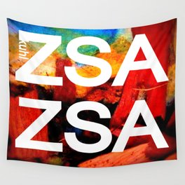 Zsa Zsa (for Craig) Wall Tapestry