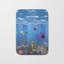 Underwater Love Bath Mat
