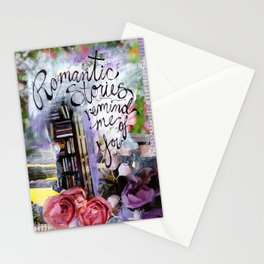 Romantic Stories Stationery Cards
