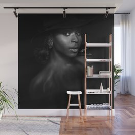 Normani Kordei 'Reflection' Digital Painting Wall Mural