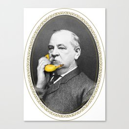 Grover Cleveland & Bananaphone Canvas Print