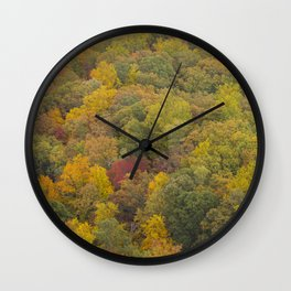 Above The Trees Wall Clock