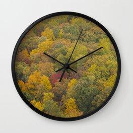 The Blue Ridge Parkway Wall Clock