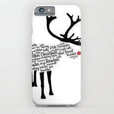 Rudolph Typography Slim Case iPhone 6s