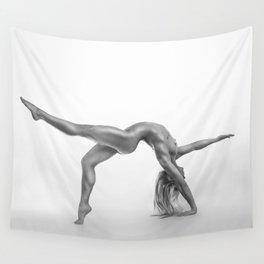 Yoga girl Wall Tapestry