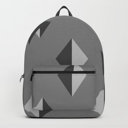 Geometry No. 2 -- Black Backpack