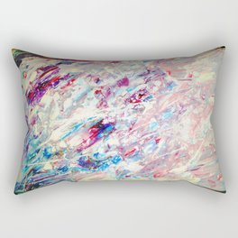 300 Refractions of a Pearl Rectangular Pillow