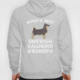 World's Best Swedish Vallhund Grandpa Hoody